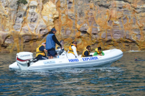 Hahei Boat ride 3