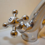 Water tap detail picture