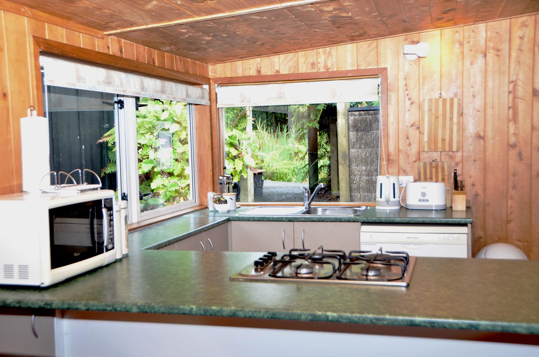 kitchen of the kiwi apartment
