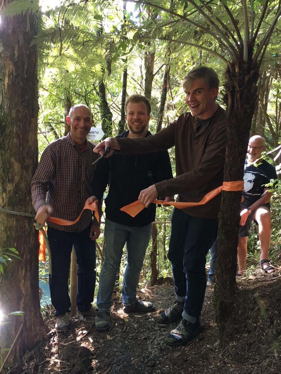 Eröffnung River Trail