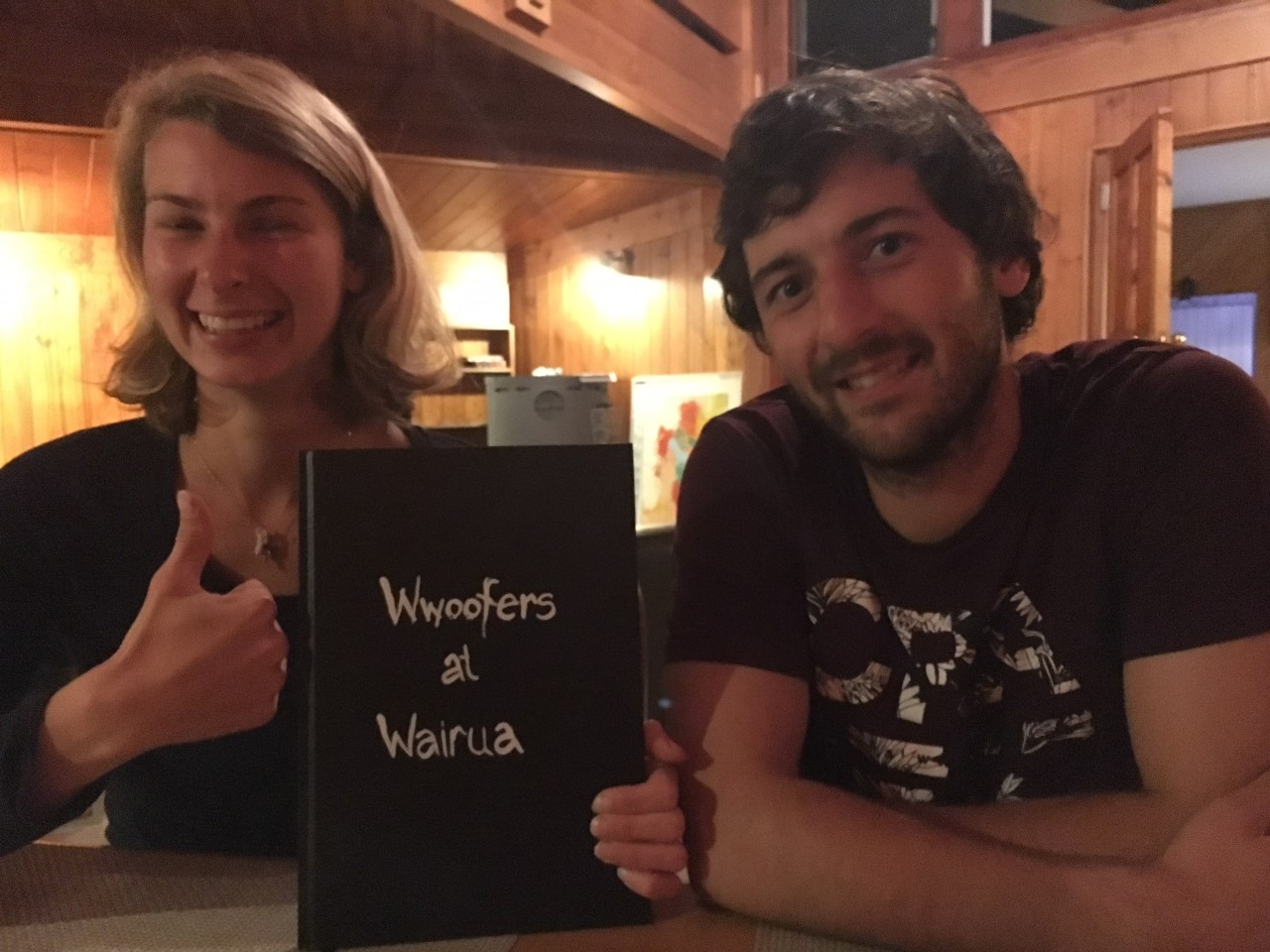Lucy and Paul with the Woofersbook