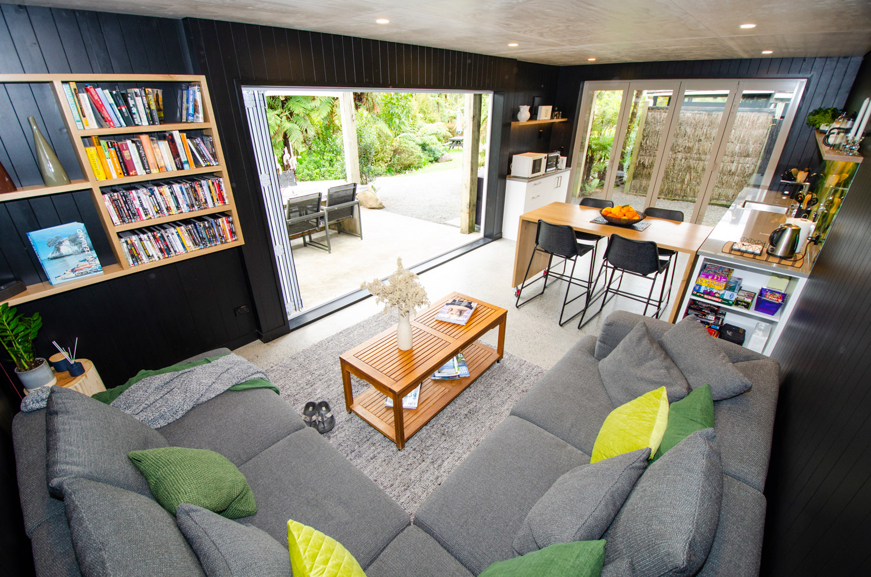 Guest Kitchen and Lounge Room Wairua Lodge