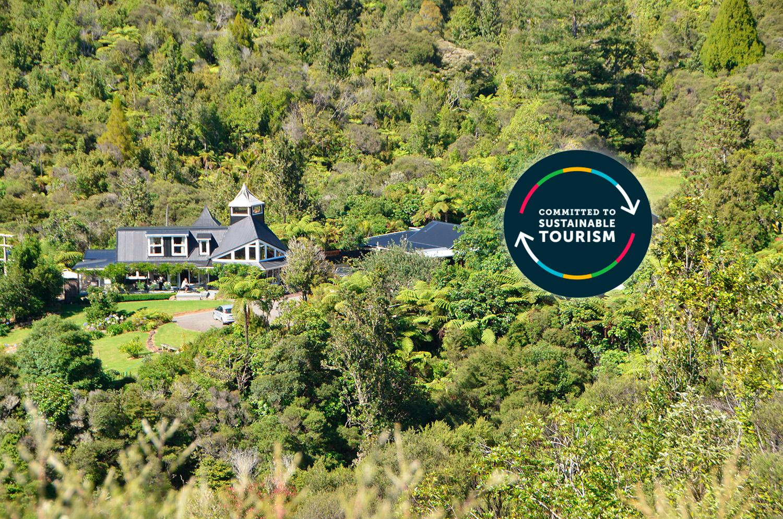 Wairua-Lodge verpflichtet sich zu nachhaltigem Tourismus
