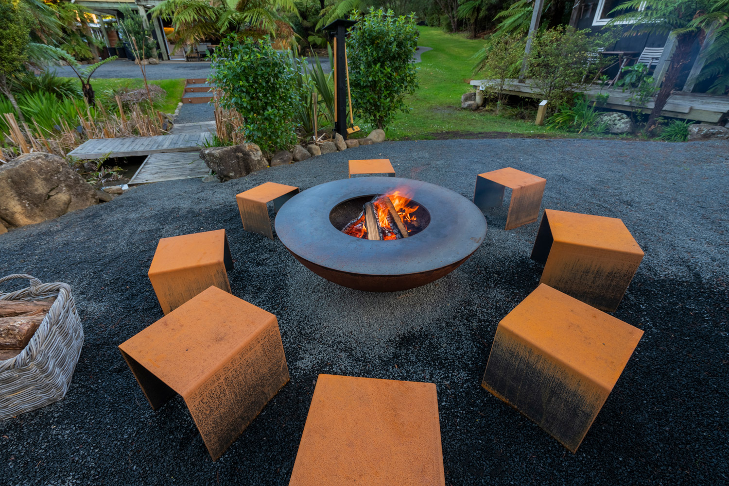 fire ring - for cosy hours arround the fire