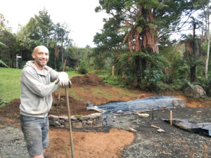 The Fire Ring at Wairua Lodge brings a new dimension to cooking on an open fire to New Zealand