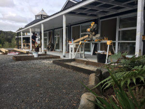Renovation works at Wairua Lodge 2019