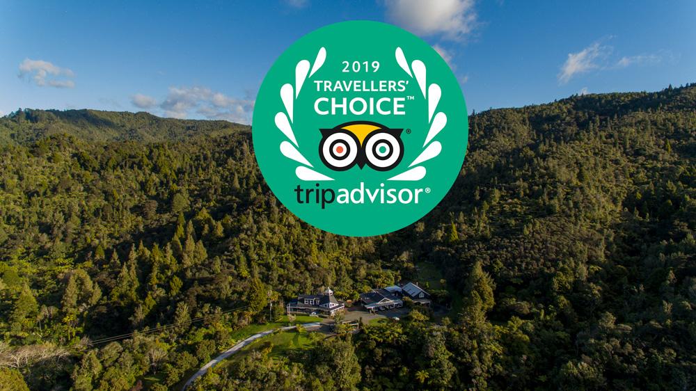 Wairua Lodge – Trip Advisor 2019 Traveler's Choice