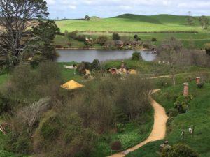 Hobbiton - like the Wairua Lodge itself, a magical place.