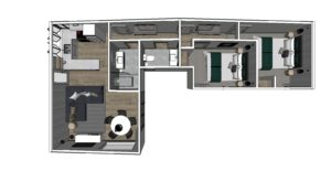 New Building phase at Wairua Lodge in Winter 2020 - The Kiwi Apartment