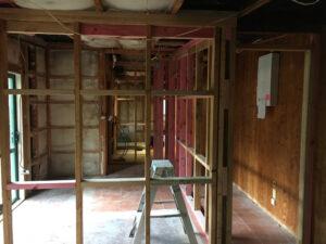renovating the Kiwi Apartment at Wairua Lodge 2020