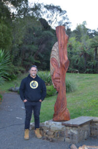 Joe Kemp Carver and the Wairua Lodge fire godess