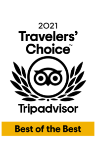 Wairua Lodge is South Pacific's Best of the Best on Trip Advisor in 2021!