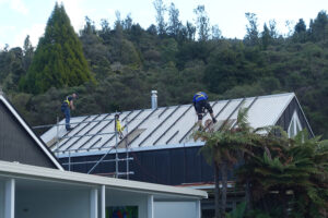 Sustainable Solar Power installation in the rainforest at Wairua Lodge - Whitianga, NZ