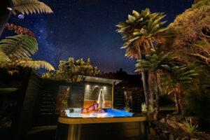 spa-stargazing at Wairua Lodge