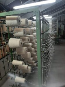 story how the NZ-made throws for Wairua Lodge are produced